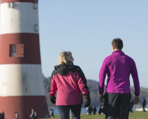 plymouth workplace wwalking challenge