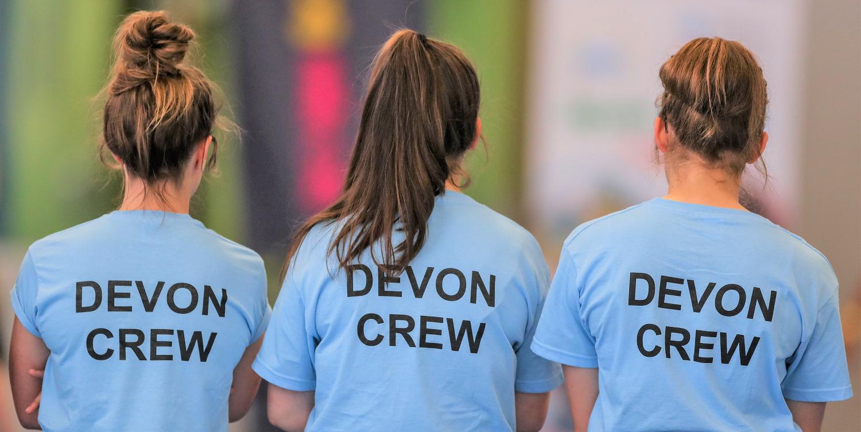 Devon School Games Devon crew