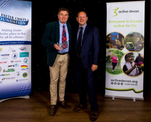 celebrating Devon's sporting heroes at the Devon sports awards