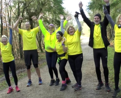This wonderful short video is taken from a local Connecting Actively to Nature group joining in with a Parkrun.