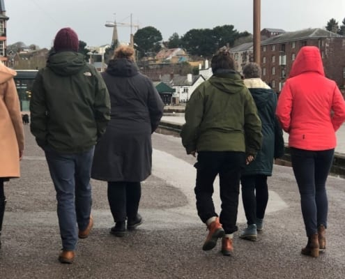 If you are hoping to become more active in 2020, while enjoying some friendly competition at the same time, you can team up with work colleagues and enter a Devon wide walking challenge.