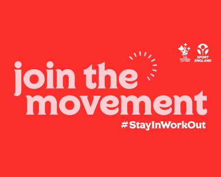 Sport England campaign Join the Movement