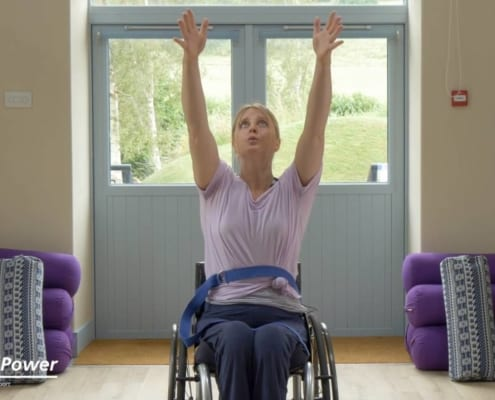 WheelPower Adaptive Yoga for Wheelchair Users